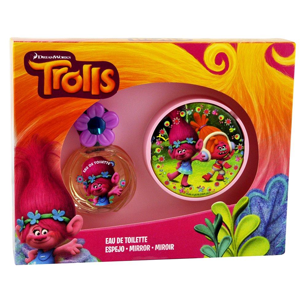Trolls Children's Perfume Eau De Toilette Mirror Gift Box, 25 ml, 2-Piece Lorenay 1393