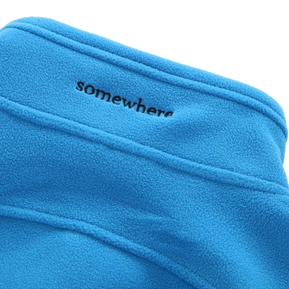 Somewhere Men's Full-Zip Fleece Composite Colors Autumn/Winter Essential Slim-Fitting Jacket(XXL) by Somewhere (Image #6)