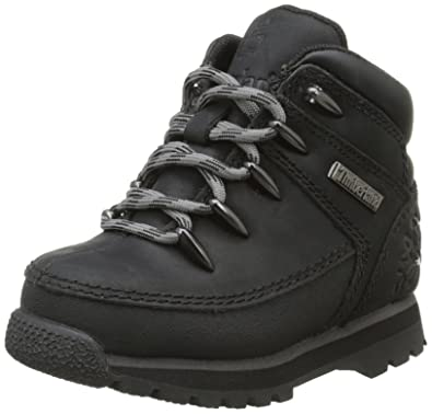 Timberland Euro Sprint, Baskets mode garçon Noir (Black), 21 EU (