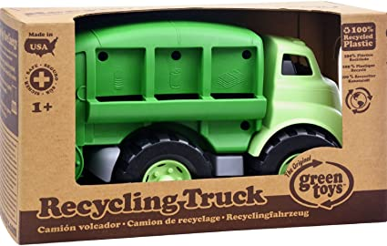 Amazon.com: Green Toys Recycle Truck: Toys & Games