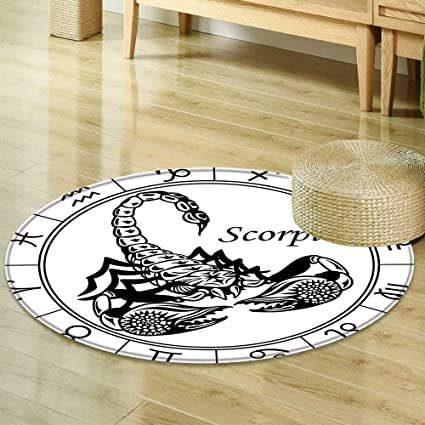 Amazon Com Area Silky Smooth Rugs Zodiac Decor Astrology