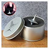Delight eShop 1pcs Inception Totem Accurate Cobb Stainless Steel Spinning Top Perfect Balance Silver