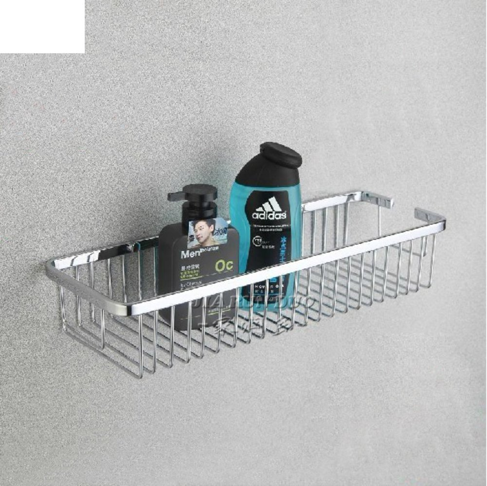 Bathroom accessories/Kitchen bathroom toilet rack/Grid square single-layer solid bathroom-C hot sale 2017