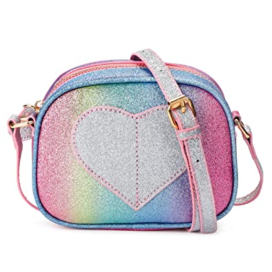 Amazon.com: CMK Trendy Kids Mini Heart Shape Kids Monedero y ...