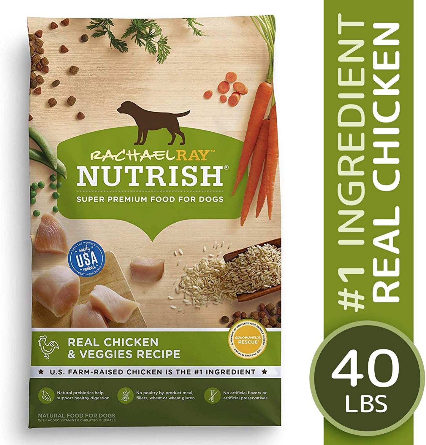 6. Rachael Ray Nutrish Natural Chicken & Veggies Recipe