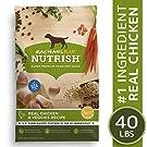 Rachael Ray Nutrish Natural Premium Dry Dog Food, Real Chicken & Veggies Recipe, 40 Lbs