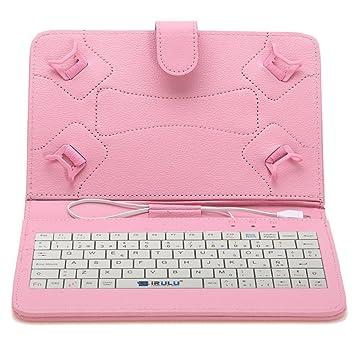 """iRULU 10,1"""" 10.5"""" portátil caso con teclado ..."""