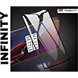 SuperdealsForTheinfinity Tempered Glass for OnePlus 6T (Black) Edge to Edge Full Screen Coverage with easy installation kit