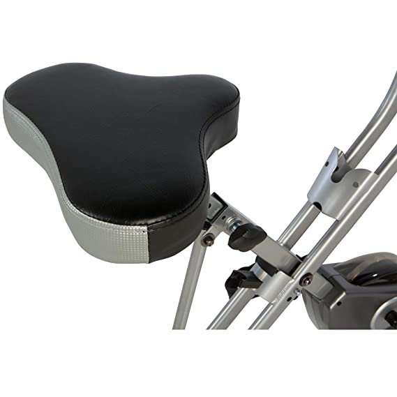 Exerpeutic Folding Magnetic Upright Bike with Pulse: Amazon ...