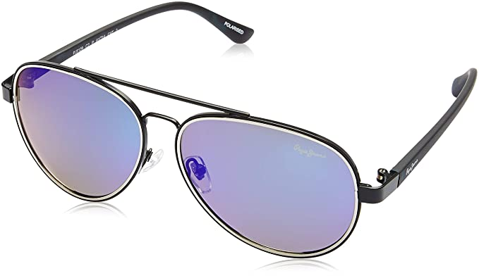 977ff19fb23 Image Unavailable. Image not available for. Colour  Pepe Jeans Polarized  Aviator Unisex Sunglasses ...