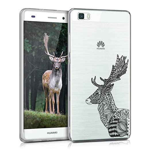 141 opinioni per kwmobile Cover per Huawei P8 Lite (2015)- Custodia in silicone TPU- Back case