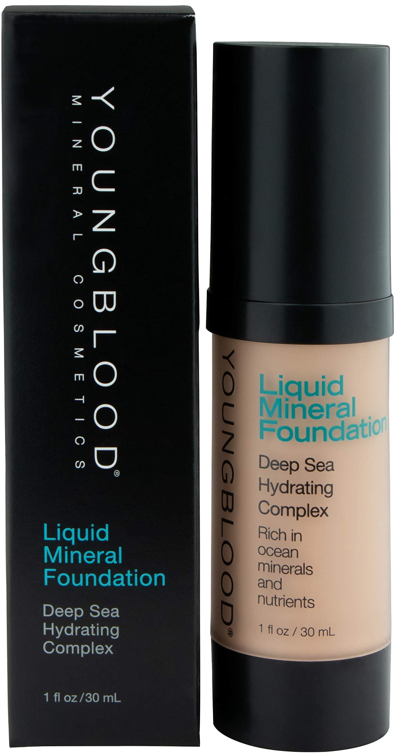 YOUNGBLOOD Liquid Mineral Foundation - 1 Oz, Color Sun Kissed