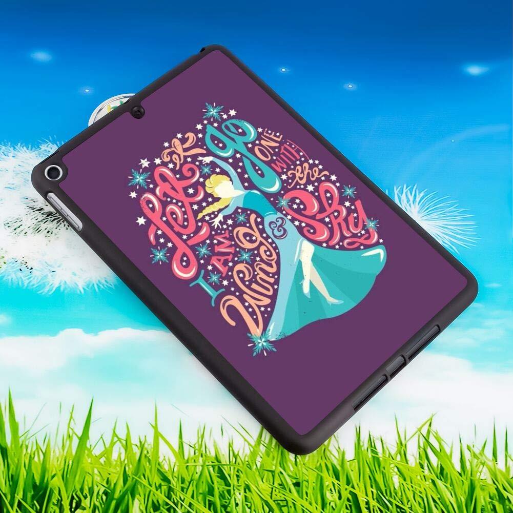 2018 iPad Mini 5 7.9-Inch Cover Case Disney Elsa Frozen Let It Go Princess Wallpaper