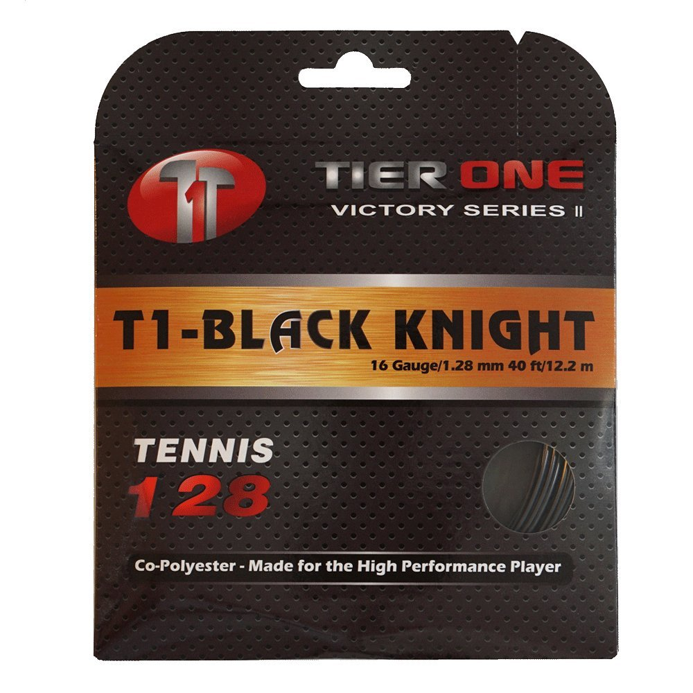 Tier One Black Knight Co-polyester Tennis String Tier One Sports
