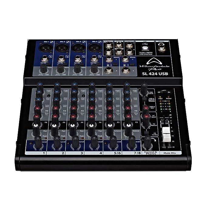 2 opinioni per WHARFEDALE PRO SL 424 USB mixer audio a 8 canali