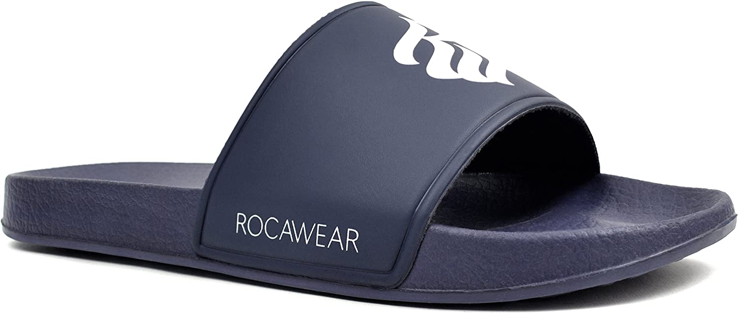 271c610f1fe7 Amazon.com: Rocawear Shoes Men'S Slip-On Pool Slides, Available in ...