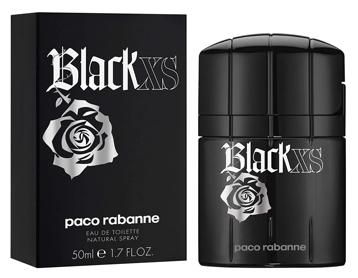 Paco Rabanne Black Xs Eau De Toilette Spray 50ml 1 7oz Beauty