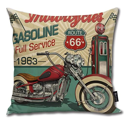 Vintage Essence Route 66 Motocicletas clásicas Biker Suave ...