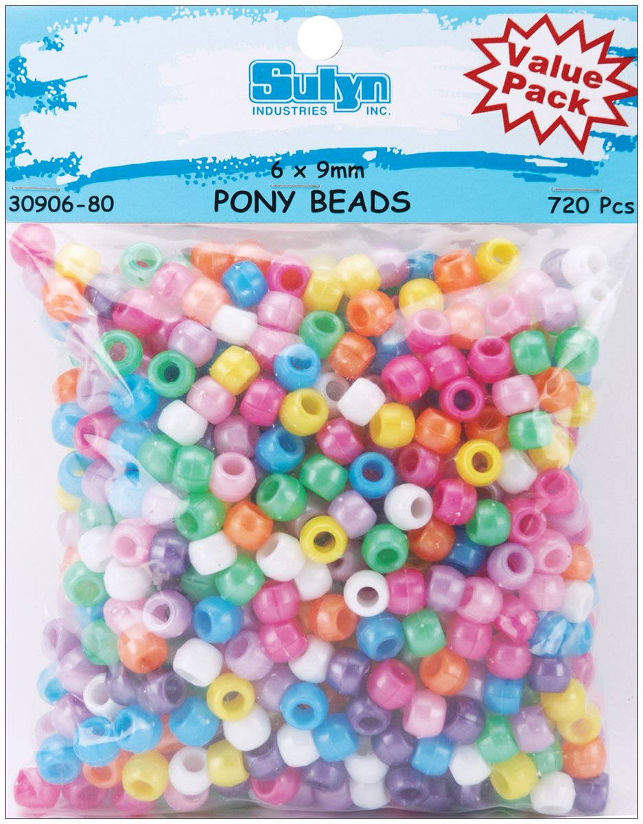 Reducción de precio Advantus Perlas de Pony 6 mmx9 mm 720/pkg-pearl Multi
