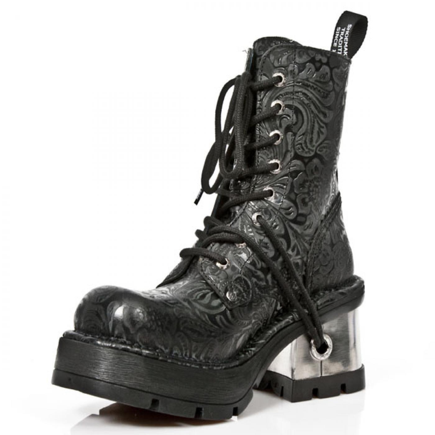 Stiefel & Stiefeletten New Rock Boots M.8355 S2 Gothic