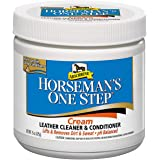 Horseman's One Step Leather Cleaner & Conditioner Cream, Vinyl/Leather Treatment to Clean, Protect, Restore & Prevent…