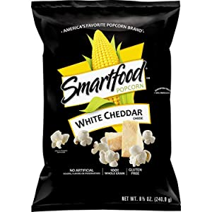 Smartfood, White Cheddar Popcorn, 8.5 Ounce Bags (Pack of 3)