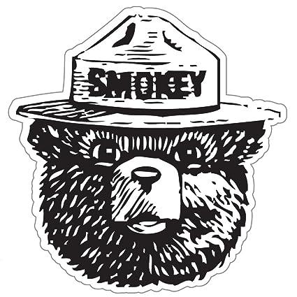 amazon com stickychimp smokey the bear firefighting wildfire