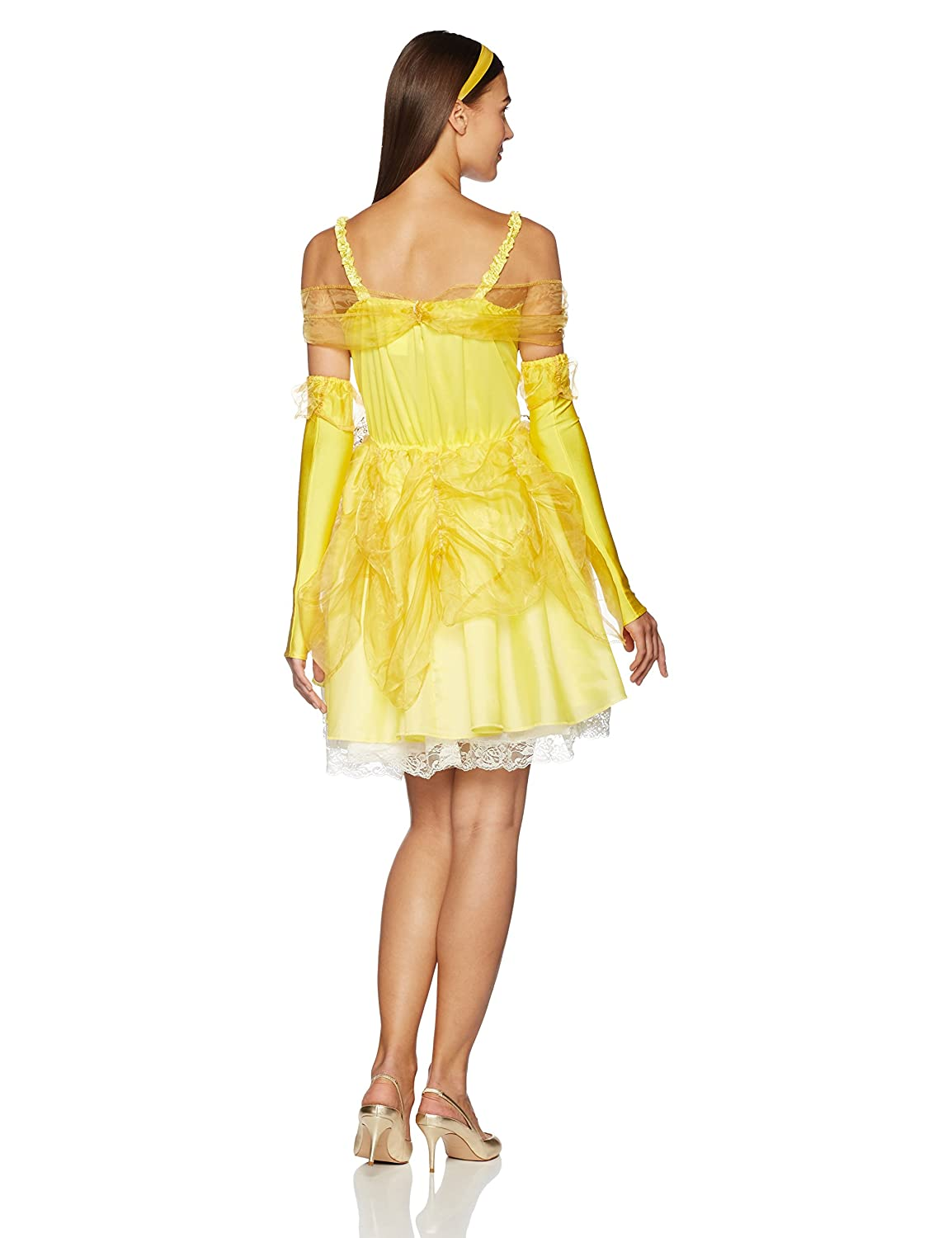 Disguise Costumes Disney Beauty And The Beast Sassy Belle Costume, Multi, Medium/8-10: Amazon.co.uk: Toys & Games