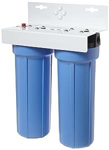 "Pentek BFS-201 3/8"" #10 Slim Line Two-Housing Filter System"