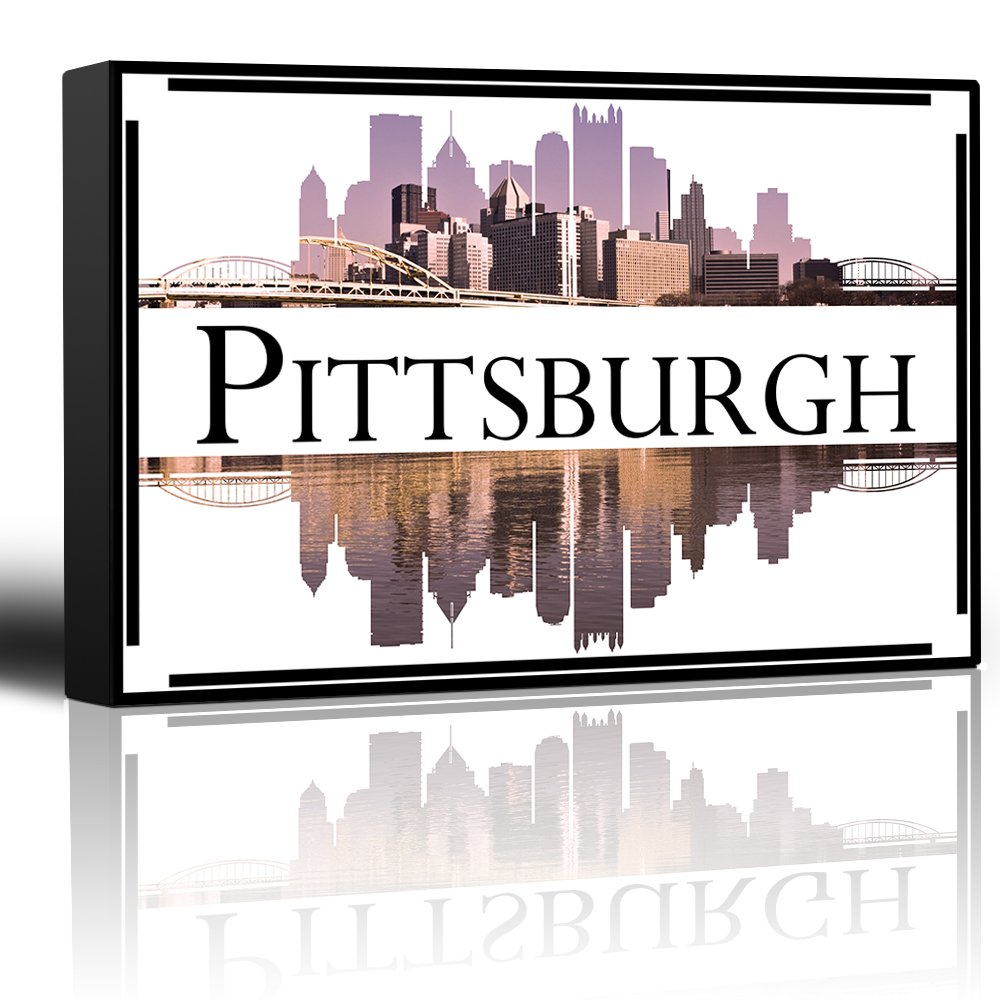 Home Decor Pittsburgh: City Skyline Series