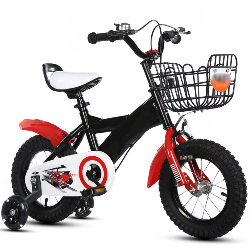 hasta un 60% de descuento ZCRFY Equilibrio Bicicleta para para para Niños Niñas Bicicletas Infantiles Bebés Ajustable Macho Y Hembra Seguro Y Cómodo para Niños Pequeños Regalo De Bicicleta,Red-12Inches  marcas de moda