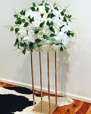 Amazon 2018 New Style Wedding Metal Gold Color Flower Vase