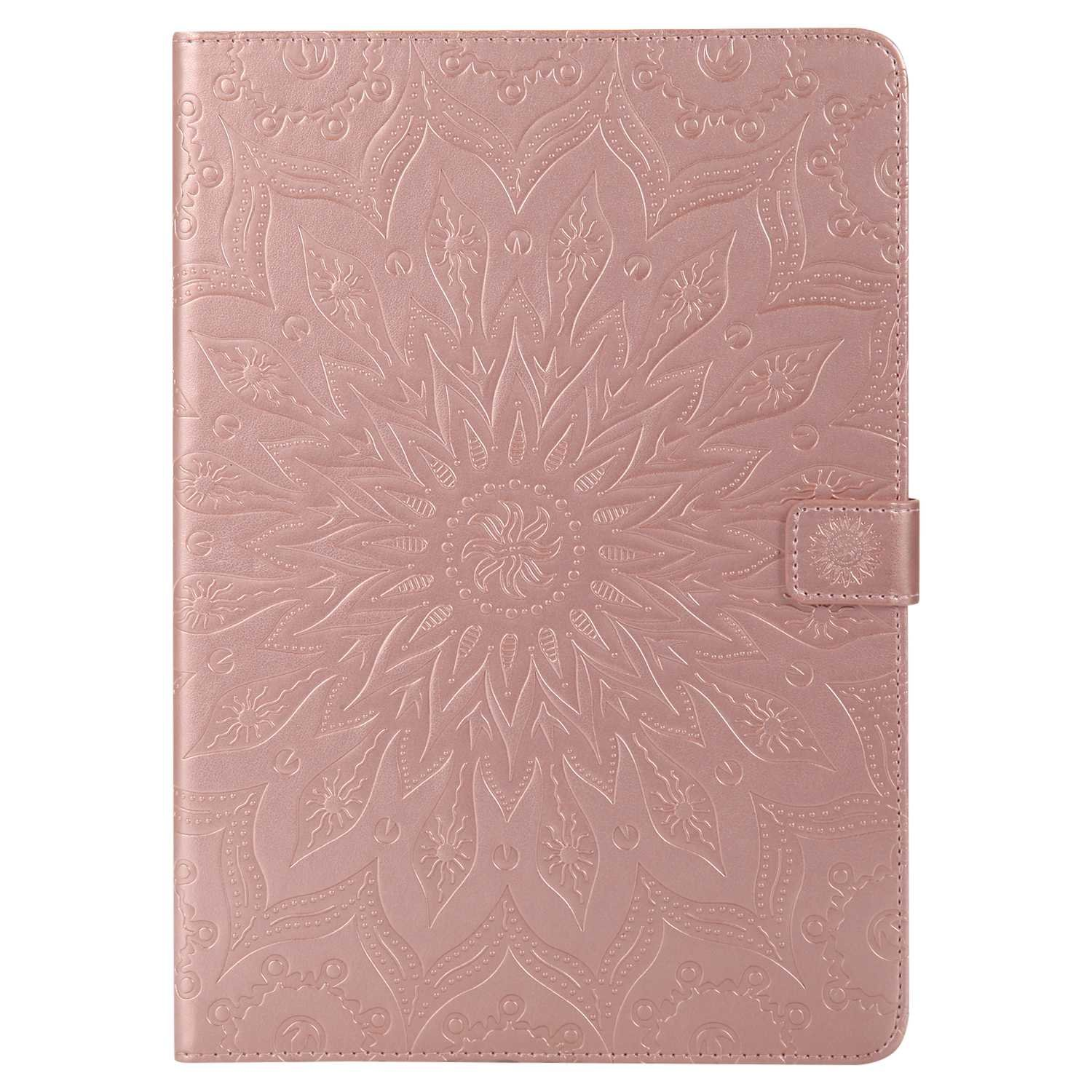 Bear Village iPad Pro 10.5 Inch Case, Anti Scratch Shell with Adjust Stand, Full Body Protective Cover for Apple iPad Pro 10.5 Inch, Rose Gold by Bear Village