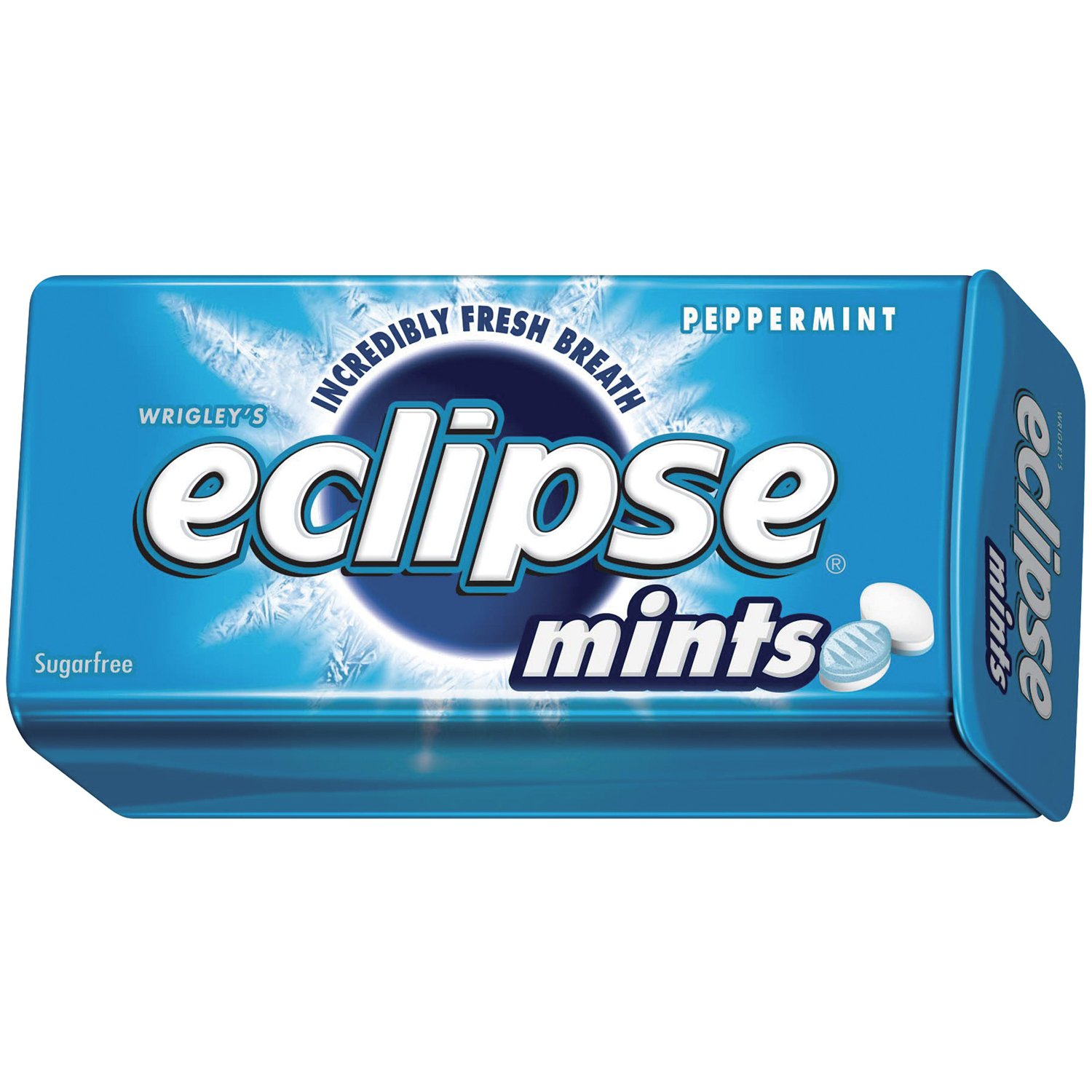 Wrigleys Eclipse Mints Peppermint, 1.2 oz.  (Pack of 8)