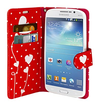 Amazon.com: Galaxy On5 Case, Customerfirst Credit Card Wallet Style Case Cover For Samsung Galaxy On5 Case (Red Dot): Cell Phones & Accessories