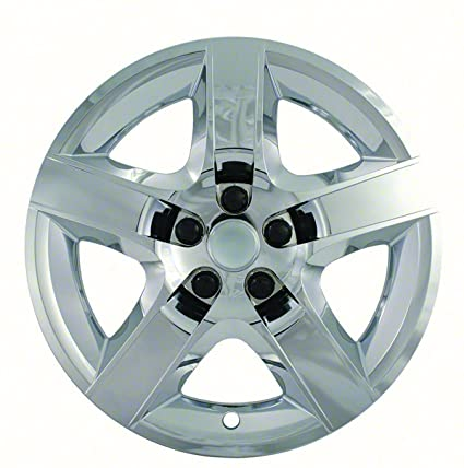 2008, 2009, 2010, 2011, 2012 Chevy Malibu Chrome Factory Replica Wheel Covers / Hubcaps (Set of 4) - 17