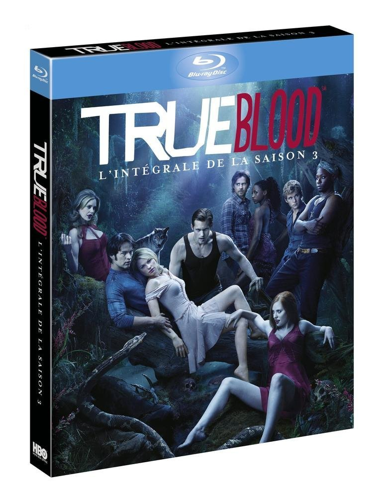 True Blood (Complete Season 3) - 5-Disc Set [ Blu-Ray, Reg.A/B/C Import - France ]