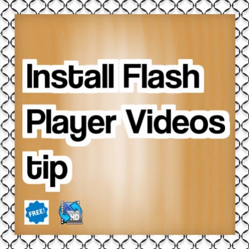 Install Flash Player Videos tip