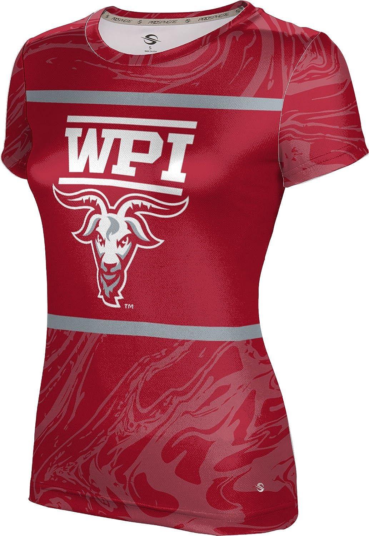 ProSphere Worcester Polytechnic Institute University Girls Performance T-Shirt Ripple