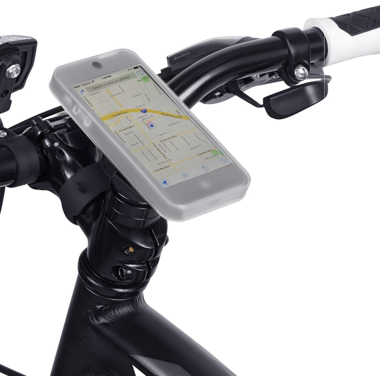 Tigra Sport Bikeconsole Lite Mount Case Bike Kit For
