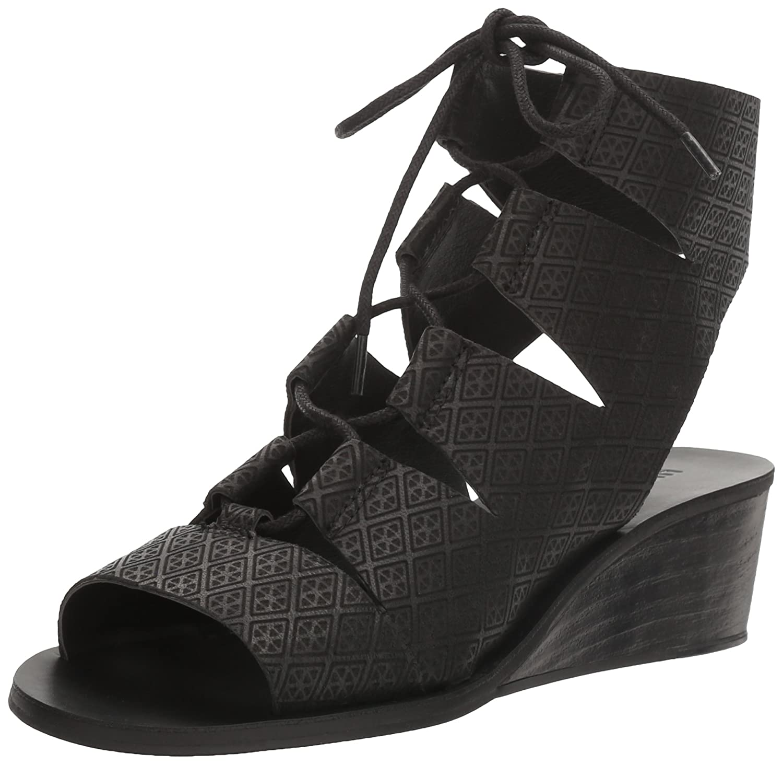 info for 09cc1 a5752 Lucky Brand Women s Gizi Sandal B01N3NW4NL 7 M M M US Black d044d2