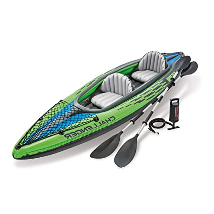 Amazon.com: STS SUPPLIES LTD Kyack inflable 2 personas Canoa ...