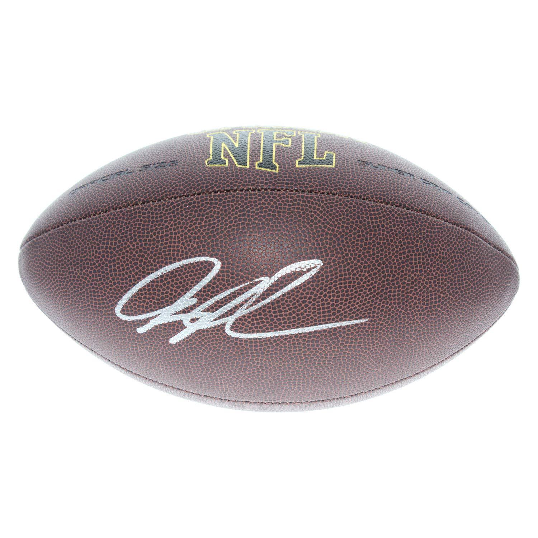 Greg Olsen Carolina Panthers Autographed Signed Wilson NFL Super Grip Football - JSA Authentic