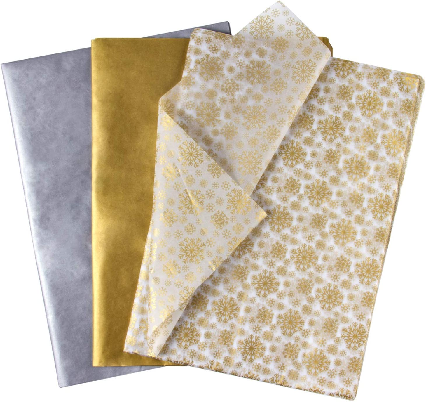 50 Luxury Sheets Acid Free Golden Yellow Tissue Paper 18 x 28