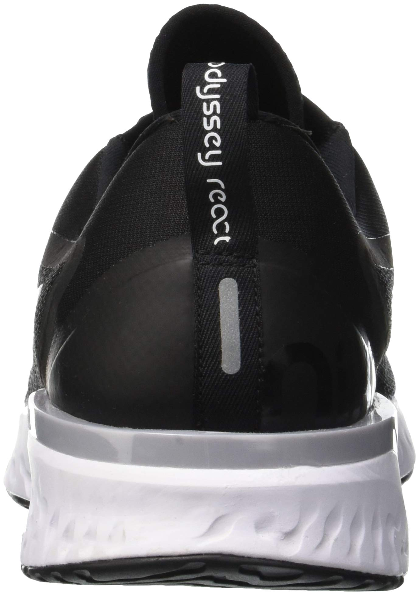 Nike Odyssey React Mens Running Trainers AO9819 Sneakers Shoes (UK 6 US 7 EU 40, Black White Wolf Grey 001) by Nike (Image #2)