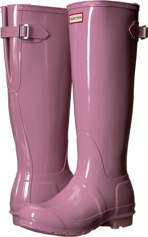 Hunter Womens Original Back Adjustable Gloss B0758FGN1V 10 B(M) US|Blossom