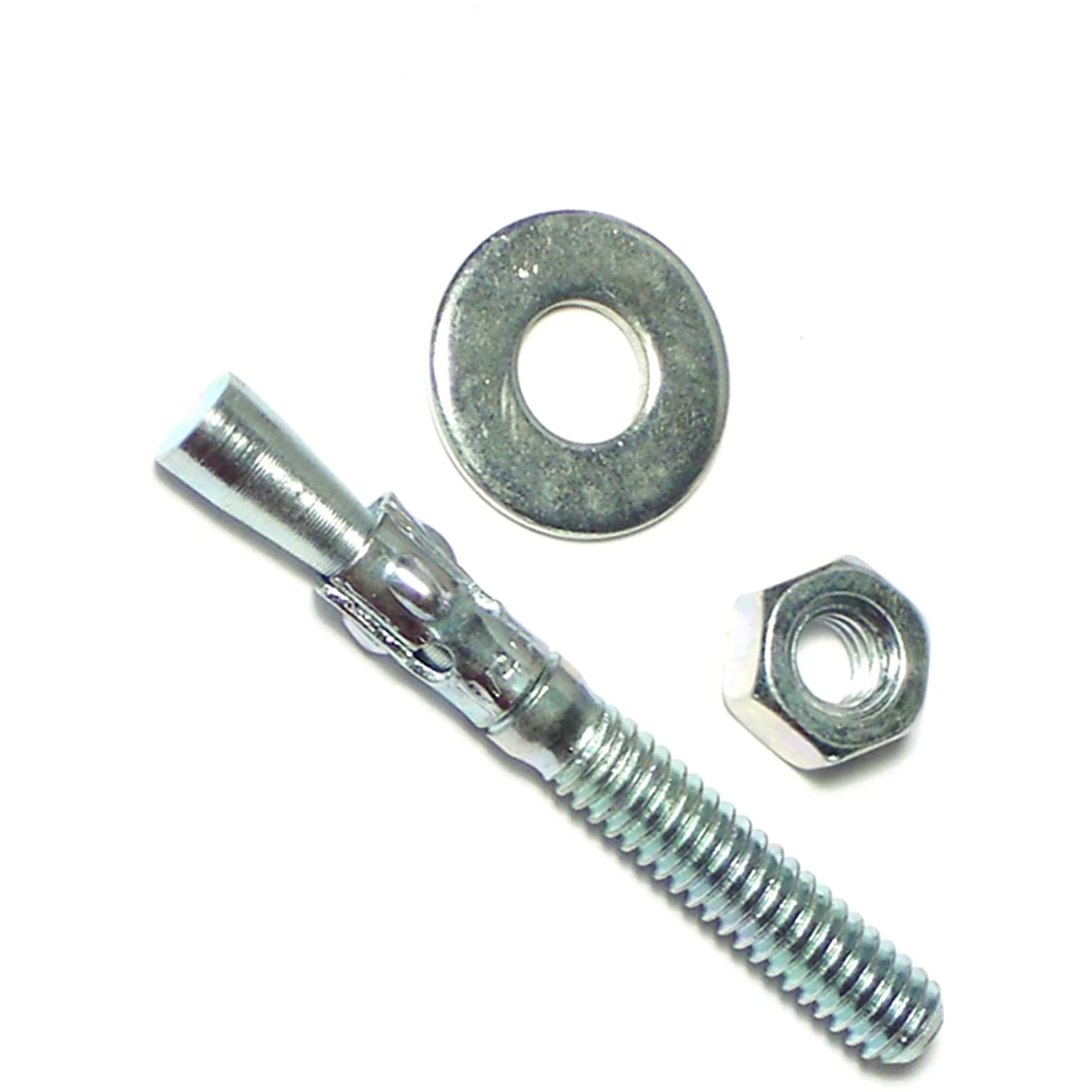 Hard-to-Find Fastener 014973237028 Concrete Wedge Anchors Piece-100 1//4 x 2-1//4