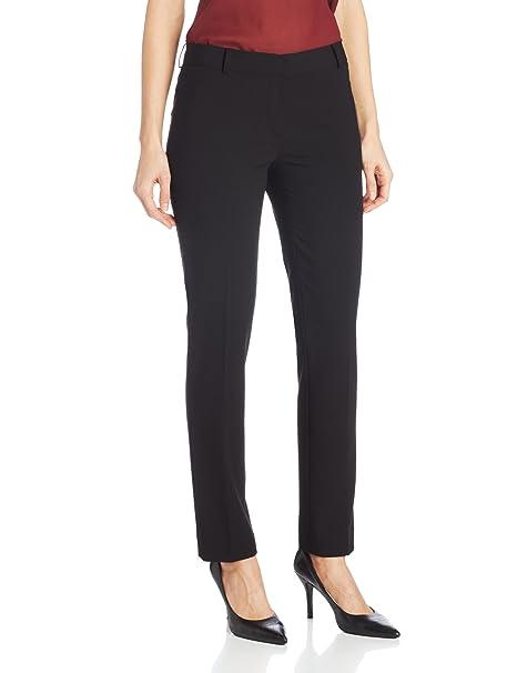 Amazon.com: Calvin Klein pantalón ajustado para mujer: Clothing