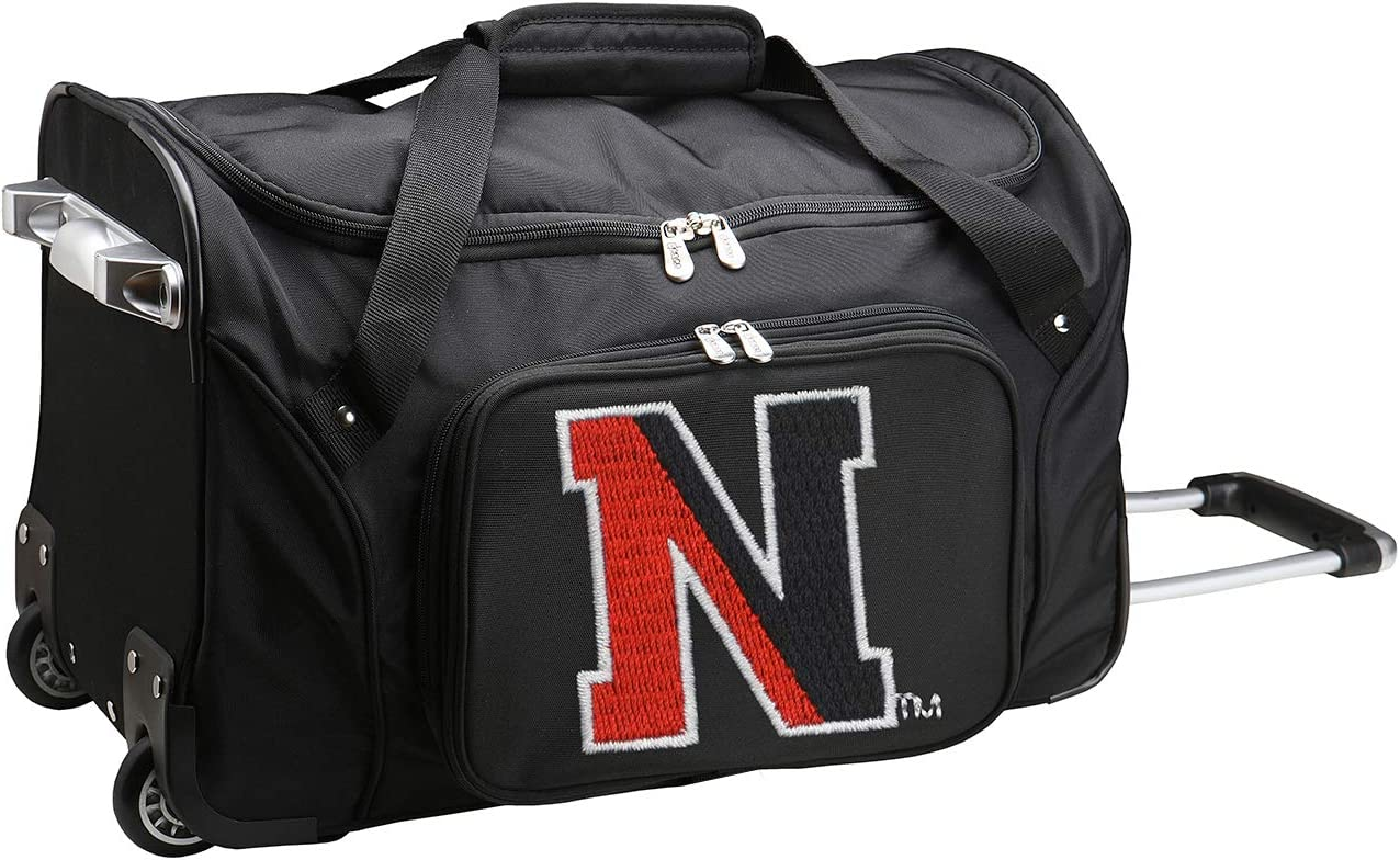 NCAA Wheeled Duffel Bag, 22-inches