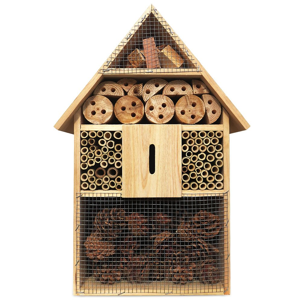 Deuba XXL Insects Hotel 48 cm Insect House Bug Box Bee Home Nesting Hibernation Nest Box